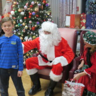 Tree Trim with Santa Dec. 5th