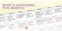 This month's calendar of activities at Kopernik