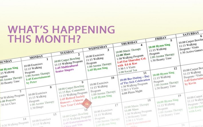 February Activities Calendar 2019 Activity Calendar – February 2019   Kopernik LodgeKopernik Lodge